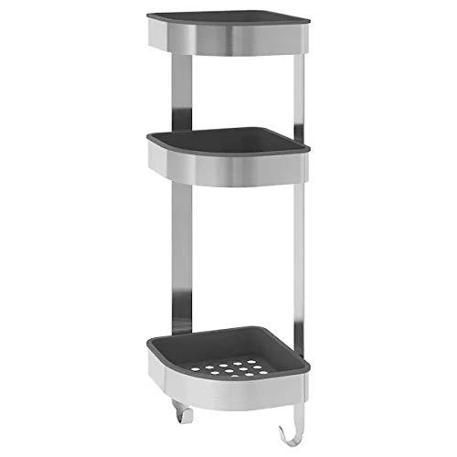 IKEA Eck-Wandregal aus Edelstahl