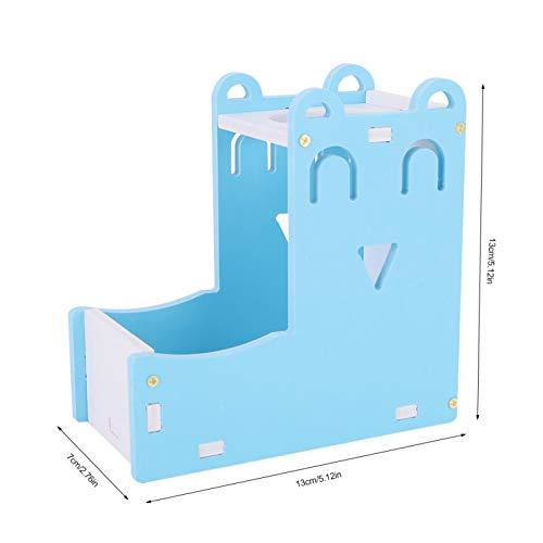 frenma Automatische Haustier-Trinkflasche, Futterautomat, Blau für Ratten Kaninchen Hamster Chinchillas
