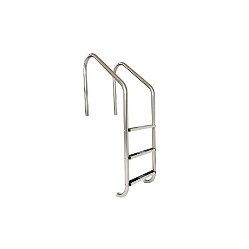 S.R. Smith VLLS-103S 3-Step Elite with Stainless Steel Steps Pool Ladder, Stainless Steel