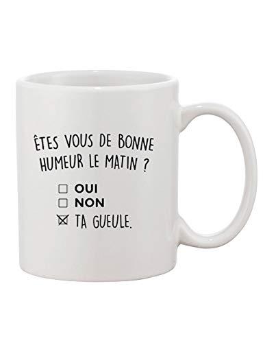 Mug - Etes vous de bonne humeur le matin ?