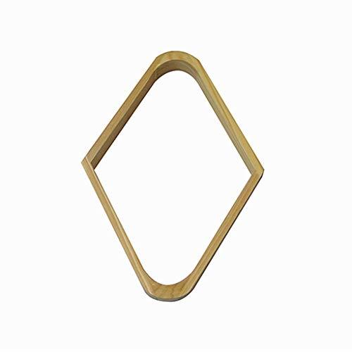 WXS Biilard-Dreieck, Billard/Pool 9-Ball Triangle Rack, Hartholz Diamond Passend für 2-1/4 Bälle (Color : B)