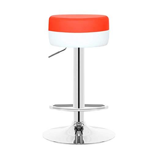 LINGZHIGAN Bar monte-fauteuil tournant minimaliste moderne avec comptoir de réception Tabourets hauts Tabouret de bar (Couleur : B)