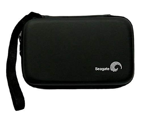 """Storin Hard Disk Drive Pouch case for 2.5"""" HDD Cover WD Seagate Slim Sony Dell Toshiba (Black)"""