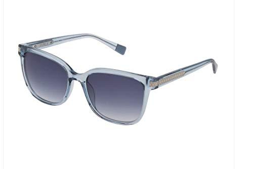 FURLA occhiali da sole SFU 336 097D Azzurro Trasparente Lucido Farfalla