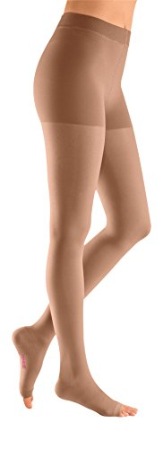 mediven Plus, 40-50 mmHg, Compression Pantyhose, Open Toe