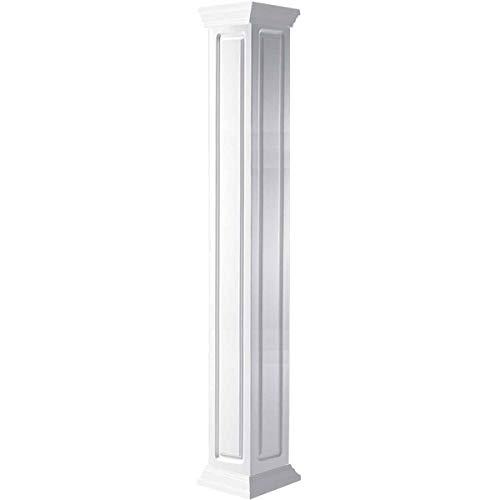 Ekena Millwork CC0604ENRCRCR Column, White