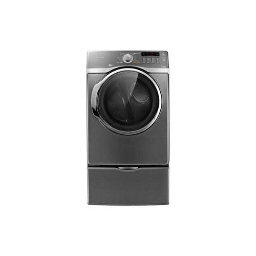 DV431AEP 7.4 Cu. Ft. Capacity Front Load Electric Steam Dryer 4-way Venting System 13 Cycles 5 Temperature Selections: Stainless