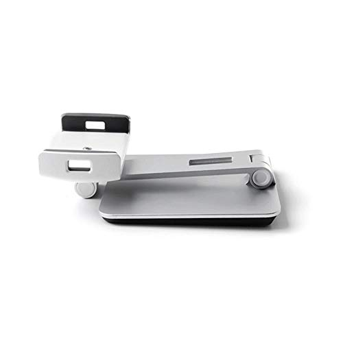 Adjustable Tablet Stand For Desk Aluminum Alloy Smart Phone Holder For Iphone For Ipad Air Mini Pro Tablet Desktop Tool,Silver