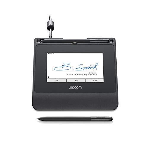 Wacom Signature Set m. 5 Zoll reflektiven Farb-LCD STU-540 Pad & sign pro PDF for Windows. Für elektron.Unterschriften in Echtzeit mit dem kabel- und batterielosen Stift u. der Software sign pro PDF