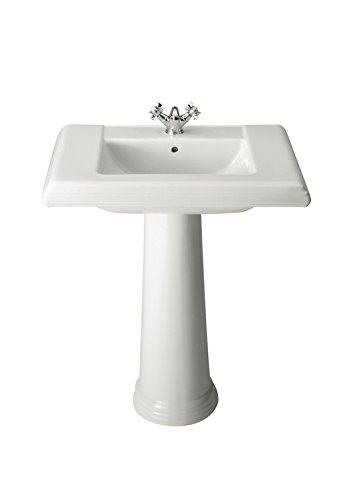 Roca A337490000 - Pedestal para lavabo de porcelana