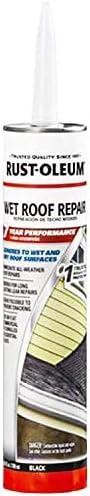 Rust-Oleum Max 84% OFF 347418 Wet Roof Repair Save money 10.1oz
