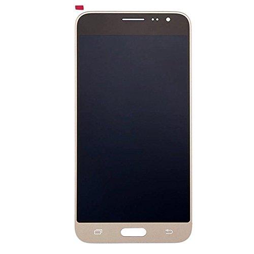 GZYF para Samsung Galaxy J3 2016 J320 Series J320P J320M J320F J320FN Pantalla LCD Digitalizador Asamblea Pantalla Táctil de Cristal Piezas de Reparación de Reparación Dorado