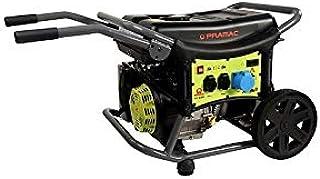 Pramac WX6200ES - Generador de corriente monofásico de gasolina con carro de arranque eléctrico
