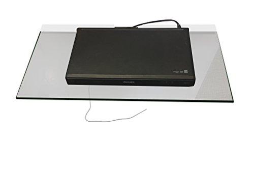 Sky Box DVD Onder TV Blu-ray-speler internet router, Fish Tanks, Glas Aquarium luidspreker Glas Plank drijvende Clear Glas Planken voor gipsplaat & bakstenen muur