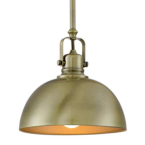 Kira Home Belle 9' Contemporary Industrial 1-Light Pendant...