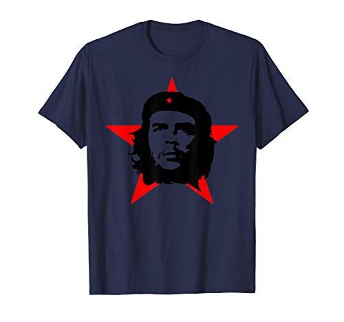 maglia che guevara Che Guevara Ribelle Rivoluzione Cuba Comandante Maglietta