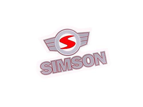 Klebefolie 'Simson'-Schriftzug u. Emblem