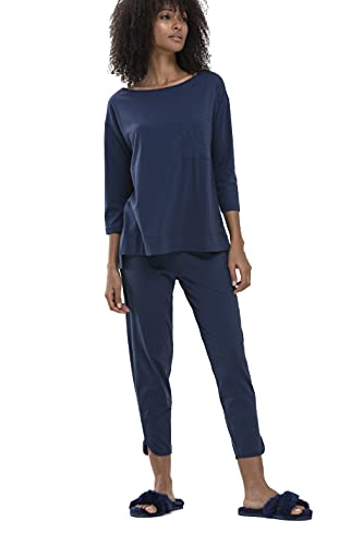 Mey Night2day Serie Liah Damen Yoga Pants New Blue M(M)