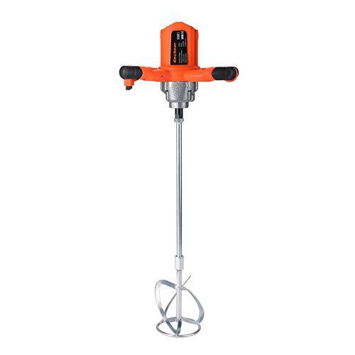 Mezclador de mortero 220V 2300W, Mezcladora de mortero pintura agitador de pintura batidor de cemento con 6 velocidades 50Hz, 980r/min