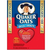 San Antonio Mall Quaker Oats Quick 1 Minute At the price - Lb. Oatmeal 4.5 2