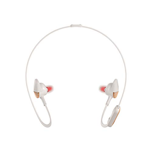 Fitbit Flyer Wireless Headphones, Lunar Gray