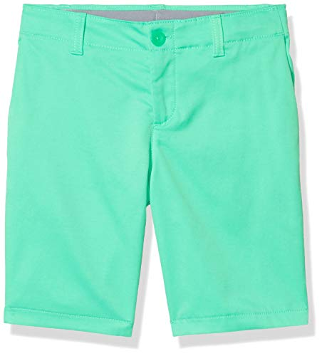 Under Armour Showdown Shorts für Jungen, Vapor Green (299)/Vapor Green, Größe 36