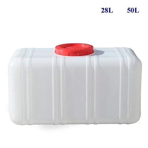 Wasserkanister  Kunststoff In Lebensmittelqualität   Beständigkeit Gegen Hohe Temperaturen   Beständigkeit Gegen Niedrige Temperaturen   Weiß (Size : 50L)