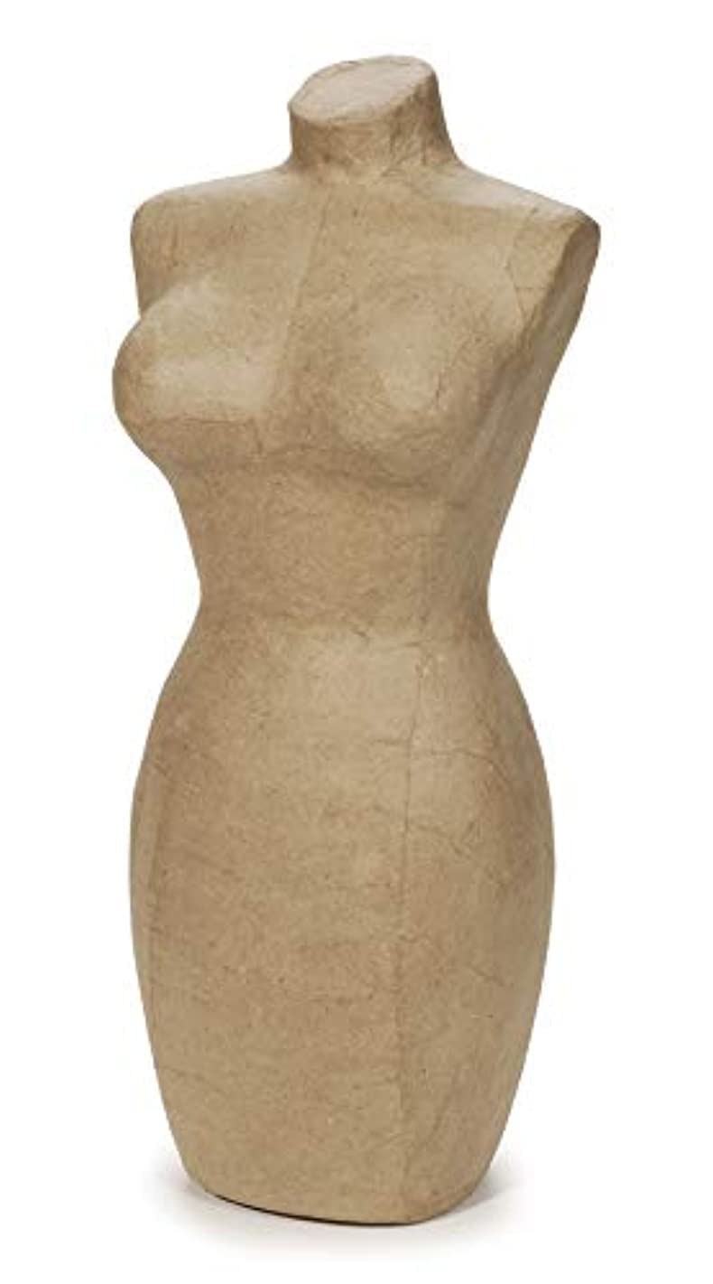 Darice?Paper Mache Large Display Mannequin - 17 inches
