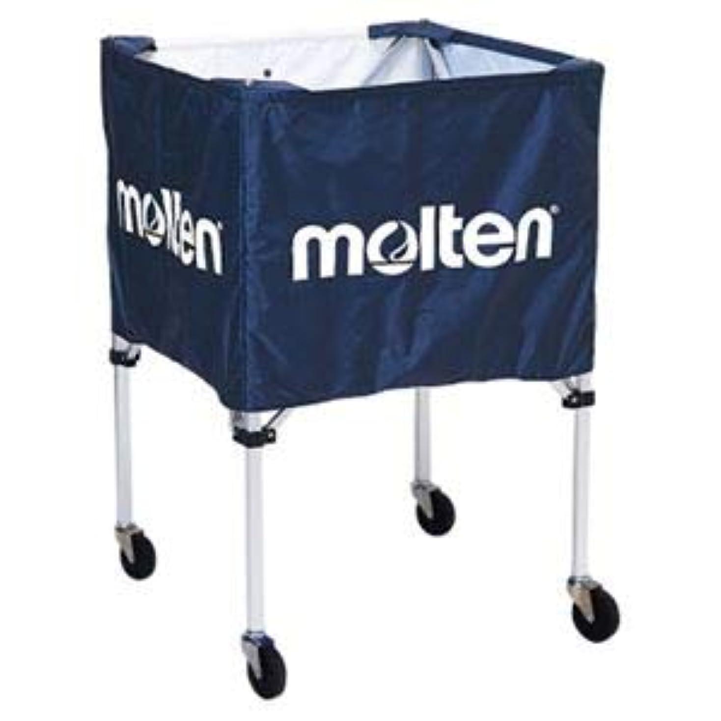 モッキンバード出口外科医モルテン(Molten) 折りたたみ式ボールカゴ(屋外用)ネイビー BK20HOTNV
