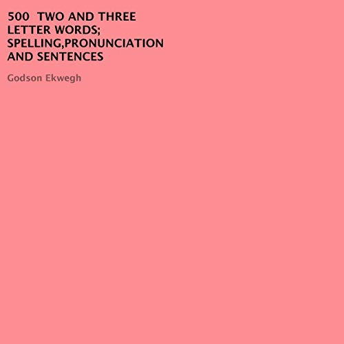 500 Two and Three Letter Words cover art