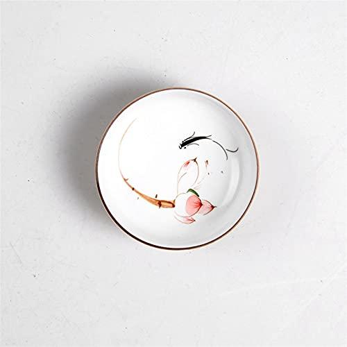 Theekopjes Drinkwaren Chinese Kung Fu thee Set Theekopjes Handgeschilderd Keramisch Porselein voor Puer Oolong Tea Plum…