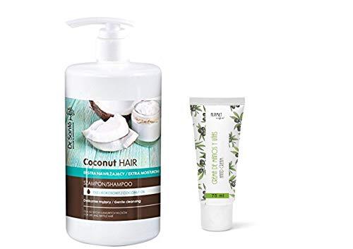 Dr. Sante Extra feuchtigkeitsspendender Conditioner mit Kokosöl für trockenes und sprödes Haar, 1100 g