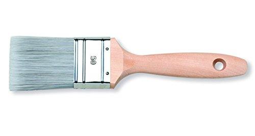 PROFI Wasser Lack & Lasur Maler Flachpinsel 80 mm KX3 Borsten Mix Lackierpinsel Lasurpinsel Acrylpinsel Lack Lasur Pinsel Lackpinsel