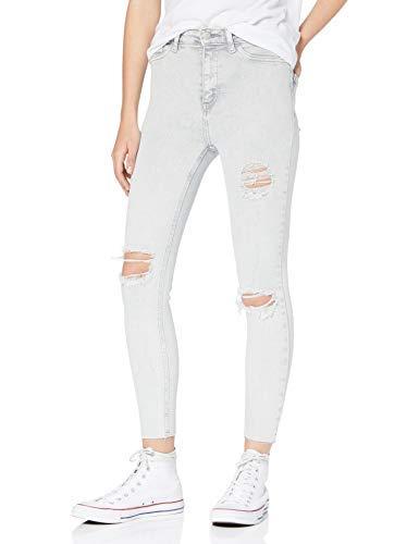 New Look Ripped Acid Disco, Jeans skinny Donna, Grigio (Light Grey 2), 36L30 (Talla produttore: 8L30)