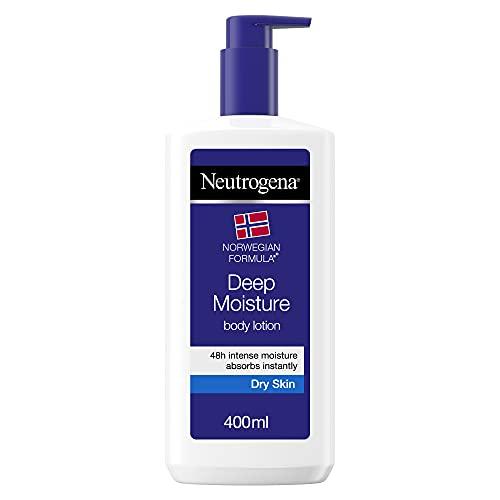 Neutrogena Crema Corpo Idratante Fluida, Formula Norvegese, per Pelli Secche, 400 ml