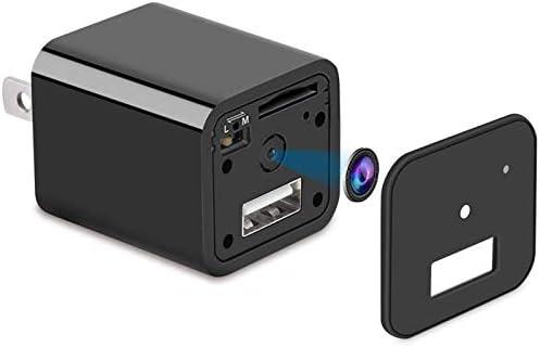 1080P HD Nanny Camera USB Wall Charger Camera USB Plug Mini USB Adapter Plug Nanny Cam Home product image