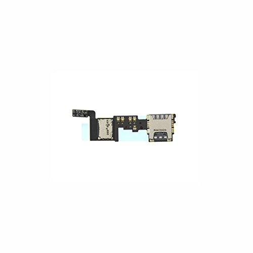 Sim-lezer en micro-SD-kaartlezer voor Samsung SM N910F Galaxy Note 4 opslag kaartsleuf garantie reserveonderdelen reparatie