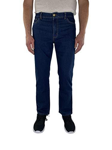 Herren 5-Pocket Jeans 60, 62, 64, 66, 68, 70, XL, XXL, 3XL, 4XL, 5XL, 6XL, Große Größen, Übergröße, Big Size, Plus Size (68, Dark Blue)