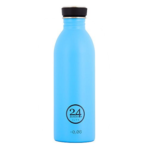 24Bottles Urban Bouteille 500 ml Acier inoxydable Bleu bouteille