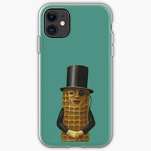 Hat Peanut Nut Assorbimento degli Urti e Anti-Graffio con iPhone 12/11 Pro Max 12 mini SE X/XS Max XR 8 7 6 6s Plus Custodie per Telefoni