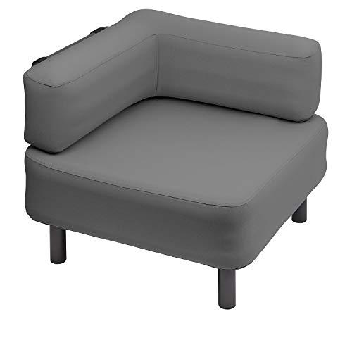 OneBar Element 1 Sessel Aufblasmöbel, Just add air, Mobile Lounge, Luft, Sofa, Couch, Sessel, Outdoor, Garten, Luftpolster, Onebar Farbe:Dark Grey
