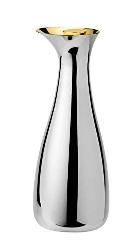 Stelton, Edelstahl, Silber, H 27cm, Ø 10,5cm