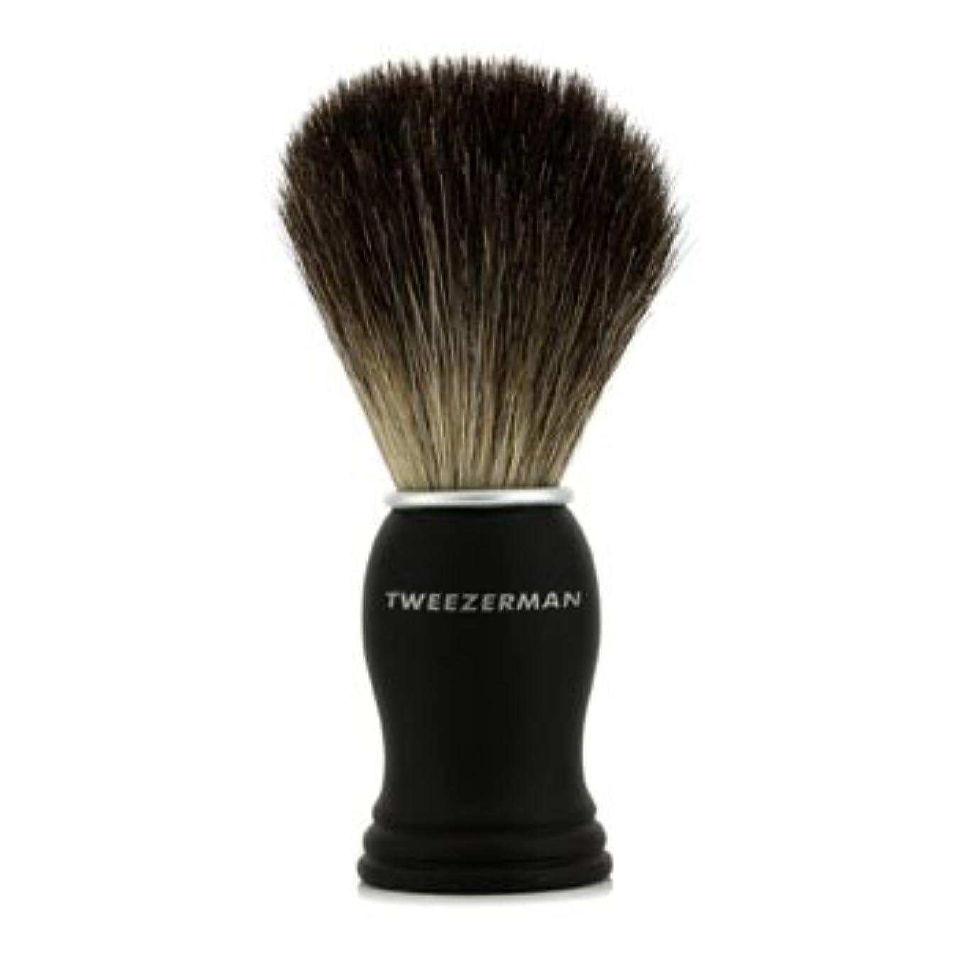 今忍耐意志[Tweezerman] Deluxe Shaving Brush 1pc