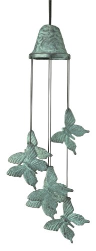 Woodstock Turquoise Butterfly Chime- Habitats Collection
