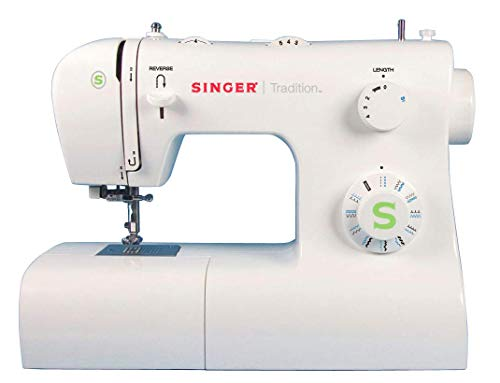 Singer Tradition 2273 Machine à Coudre Blanche 34 Points Ajustables