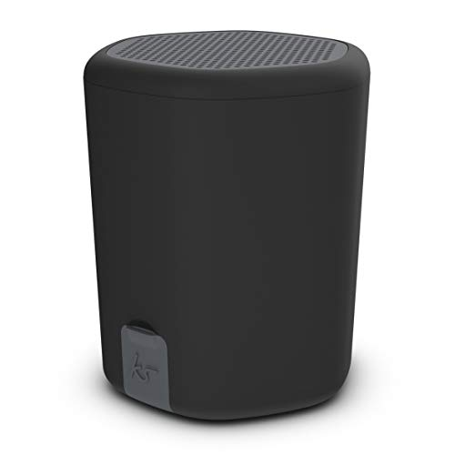 KitSound Hive2o Waterproof Bluetooth Portable Wireless Speaker with Call Handling Function, Black
