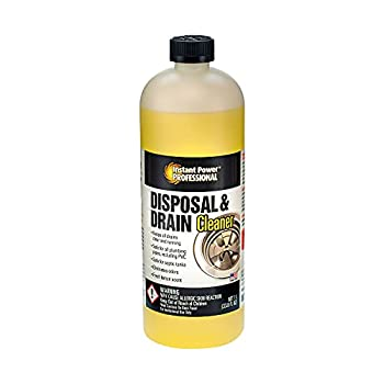 Instant Power Disposal and Drain Cleaner Drainage Clog Remover 33.8 Fl Oz.