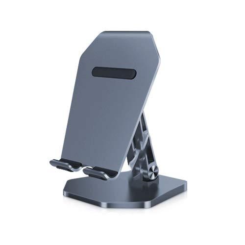 Mobiele telefoon luie stand desktop, metalen universele vouwen kleine steun plank, tablet film film video live TV draagbare