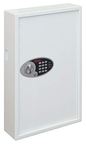 Phoenix Cygnus KS0033E | Schlüsseltresor für 144 Schlüssel | inkl. Schlüsselanhänger | weiss HxBxT: 66x43x13cm 20kg