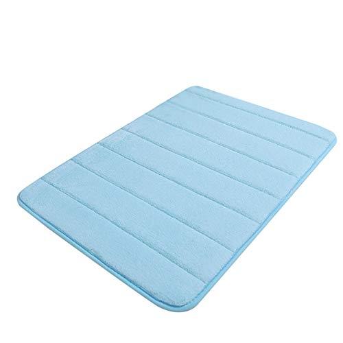 ADAFY Alfombra de baño súper Absorbente alfombras de baño alfombras de Espuma viscoelástica Suave Alfombra de Piso baño baño Dormitorio Inodoro Piso Ducha Alfombra decoración